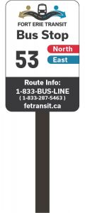 FET route sign